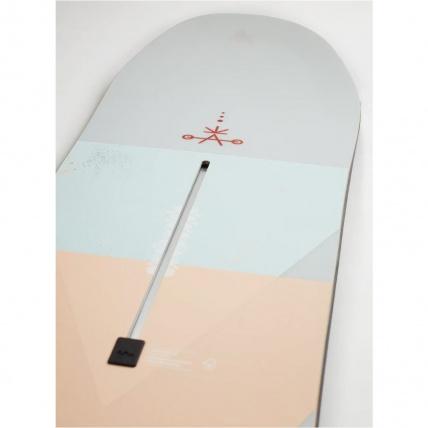 Burton Yeasayer Flying V Womens Snowboard tail