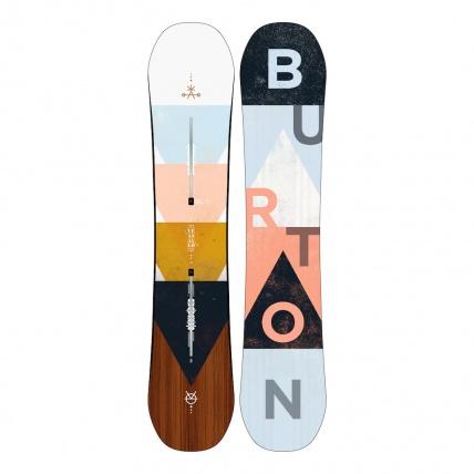 Burton Yeasayer Flying V Womens Snowboard