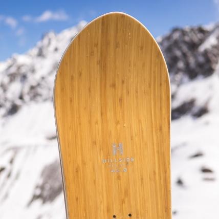 Salomon Sickstick Mens 2019 Snowboard 157cm at Spring Break Snowboard Test nose
