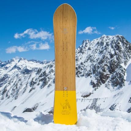 Salomon Sickstick Mens 2019 Snowboard 157cm at Spring Break Snowboard Test top sheet graphic