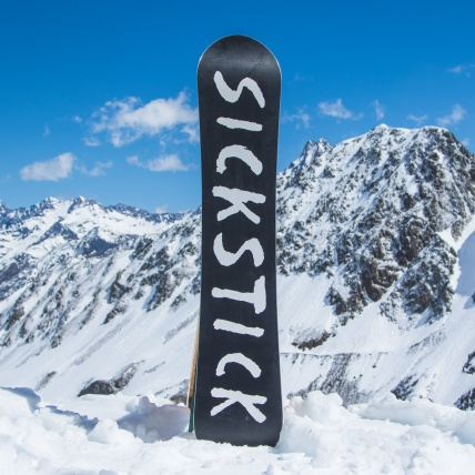Salomon Sickstick Mens 2019 Snowboard 157cm at Spring Break Snowboard Test base graphic