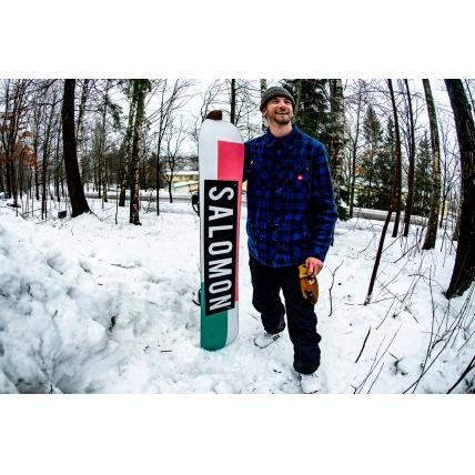 Salomon Huck Knife 2020 Snowboard riding