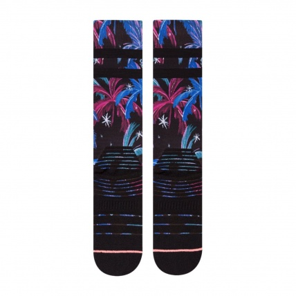 Stance Womans Galactic Palm All Mountain Snow Socks