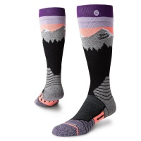 Stance - Womans Park White Caps Snowboard Socks