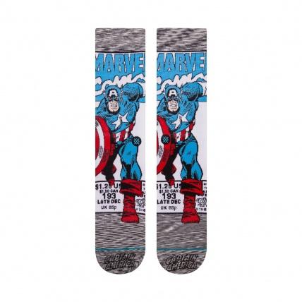 Stance Marvel Captain America Socks Front
