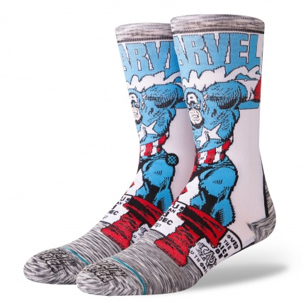 Stance Marvel Captain America Socks