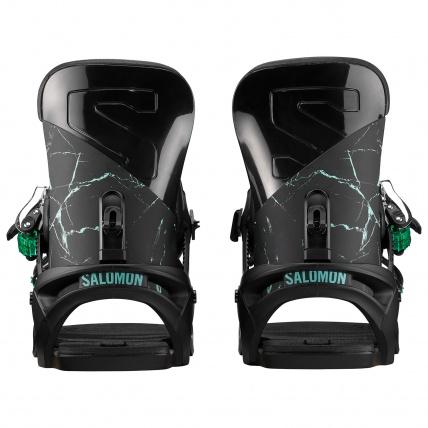 Salomon Vendetta Black Marble Womens Snowboard Binding high backs