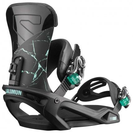 Salomon Vendetta Black Marble Womens Snowboard Binding