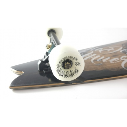 Roots Longboards Fish Custom Complete
