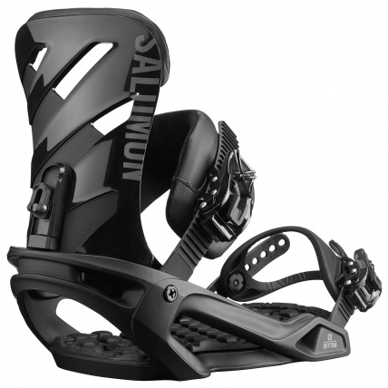 Salomon Mens Sight snowboard and Rhythm Snowboard binding Package