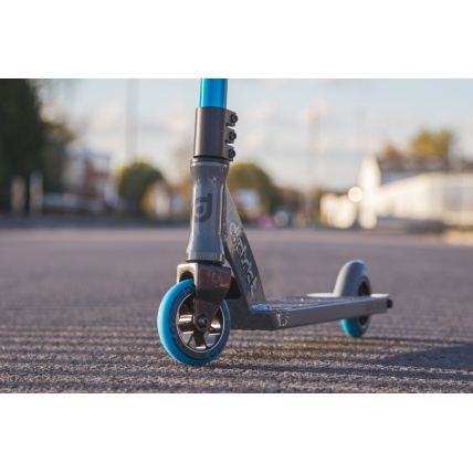District X Mod DK150i Complete Custom Scooter Grey and Blue