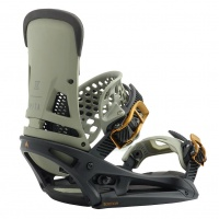 Burton - Malavita EST Black Grey Snowboard Bindings