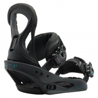Burton - Stiletto ReFlex Matte Black Snow Binding