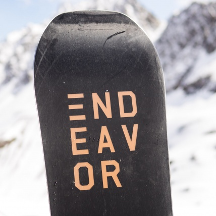 Endeavor Ranger Snowboard 2019 152cm at Spring Break Snowboard Test