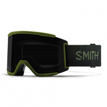 Smith Squad XL Moss Surplus ChromaPop Sun Black Snow Goggles