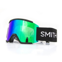 Smith - Squad XL Black ChromaPop Sun Green Snow Goggles