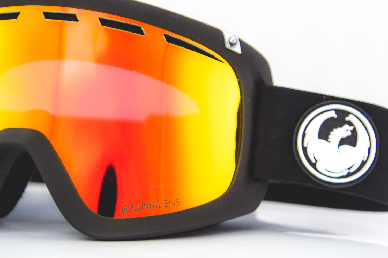 eadb4dfabe0 Dragon D1 OTG Black Lumalens Red Ion Snowboard Goggles - ATBShop.co.uk