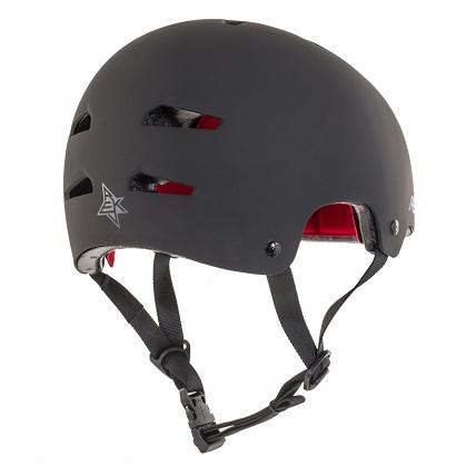 Rekd Protection Elite Black on Black Helmet