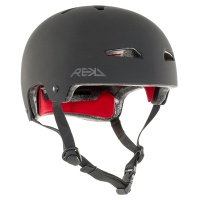 Rekd Protection - Elite Black on Black Helmet