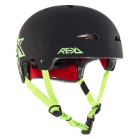 Rekd Protection - Elite Icon Helmet in Black and Green