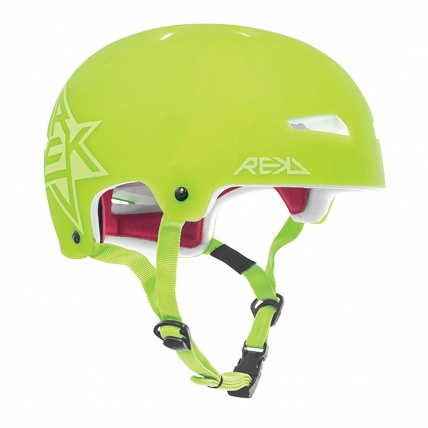 Rekd Elite Icon Semi Transparent Green Helmet