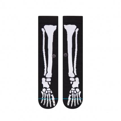 Stance Bones 2 Glow in the Dark Skate Socks Front