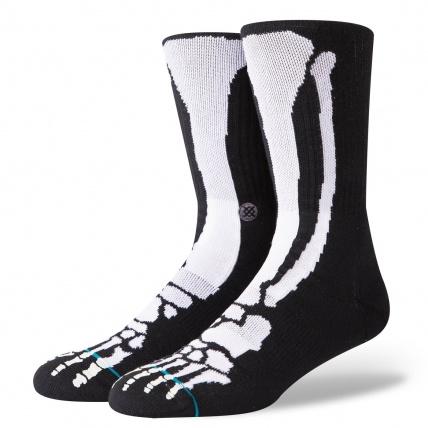 Stance Bones 2 Glow in the Dark Skate Socks