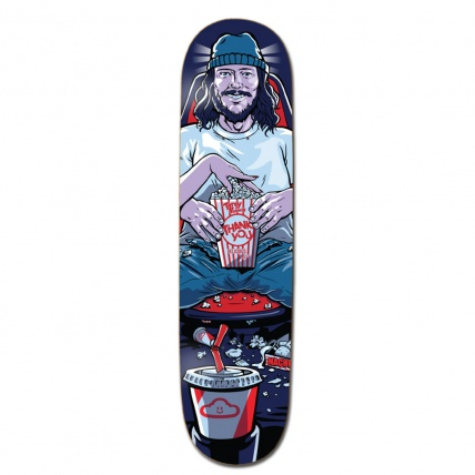 Thank You Date Night Torey Pudwill Skateboard Deck 8.0