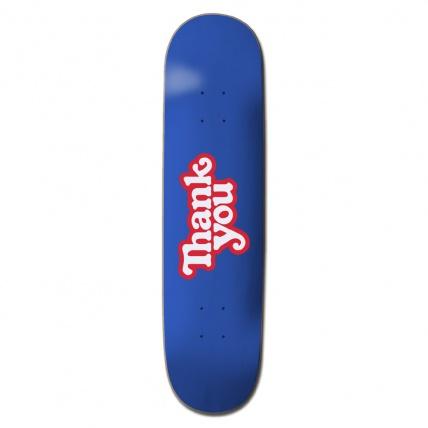 Thank You Logo Skateboard Deck 8.25in