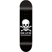 Death - White Skull Logo Skateboard Deck