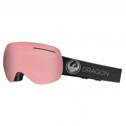 Dragon X1 Echo PH Photochromic Light Rose Snow Goggles