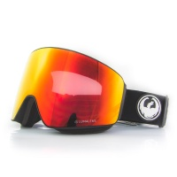 Dragon - PXV Black Lumalens Red Ion Snowboard Goggles
