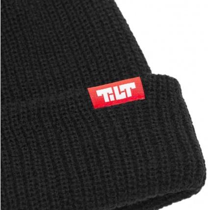Tilt Logo Beanie Black
