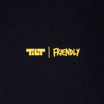 Tilt X Friendly Collab T-Shirt Black