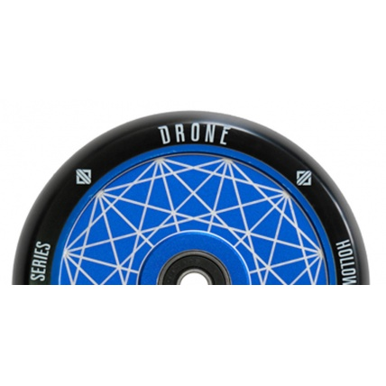 Drone Hollow Series Wheel 110mm Blue Prism half