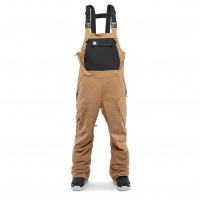 Thirty Two - Basement Brown Bib Mens Snowboard Pants