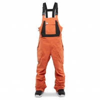 Thirty Two - Basement Orange Bib Mens Snowboard Pants
