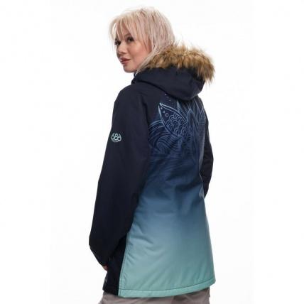 686 Dream Insulated Womens Jacket Seaglass Fade Sub