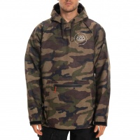 686 - Waterproof Hoody Mens Dark Camo Triangle