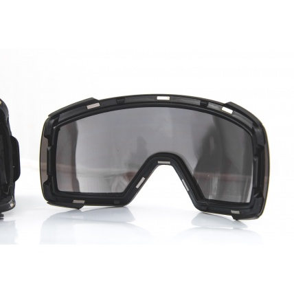 Smith I/O Mag Black ChromaPop Sun Platinum Snow Goggles