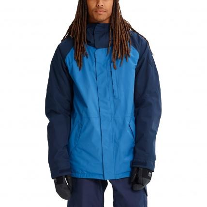 Burton Radial Vallarta Blue Gore Tex Mens Snow Jacket
