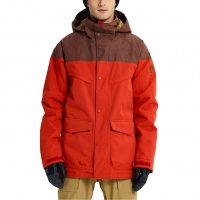 Burton - Breach Bitters Chestnut Waxed Insulated Jacket