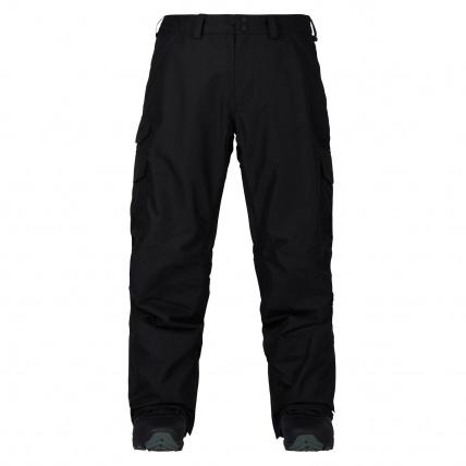 Burton Cargo True Black Mens Short Fit Snowboard Pants