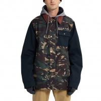 Burton - Dunmore Seersucker Camo Black Snowboard Jacket