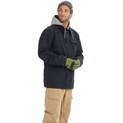 Burton Dunmore GoreTex Black Mens Snowboard Jacket