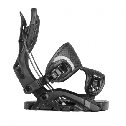 Fuse Fusion Black Step In Mens Snowboard Bindings