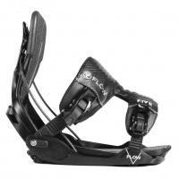 Flow - Five Fusion Black Step In Snowboard Bindings