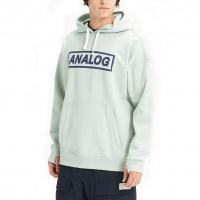 Analog - Crux Pullover Aqua Grey DWR Mens Hoodie