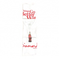 Diamond -  X Coca Cola White OG T-Shirt