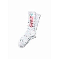 Diamond - X Coca Cola Socks White Splatter